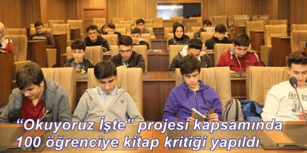 """Altınordu Belediyesi """"Okuyoruz İşte"""" Projesine Ev Sahipliği Yaptı"""