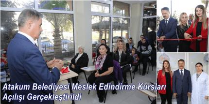 Atakum'da İstihdama Eğitim Desteği