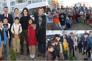Atakum'da Öğretmenlere Anlamlı Hediye