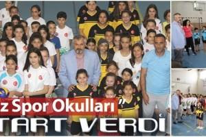 Bafra Belediyesi Yaz Spor Okulları Başladı