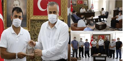 Mevlana Külliyesi Eğitim Merkezi'nden Başkan Kılıç'a Ziyaret