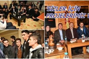 Başkan Şahin Öğrenciler ve Gençlerle Buluşmaya Devam Ediyor