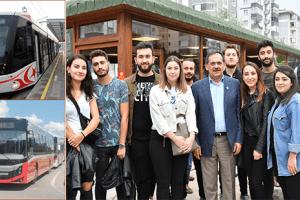 Büyükşehir'den Öğrencilere Ulaşım Müjdesi