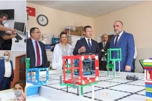 Canik Belediyesi'nden Robotik Kodlama ve Yazılım Eğitimi
