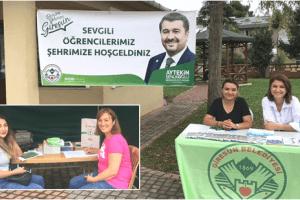 Giresun Belediyesi Öğrencilere Rehberlik Yapıyor