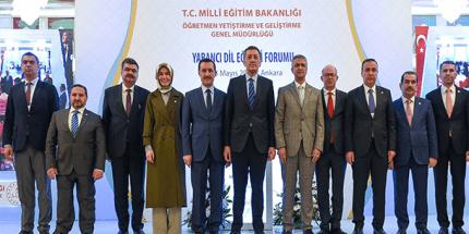 """Milli Eğitim Bakanlığı """"Yabancı Dil Eğitim Forumu"""" Düzenledi"""