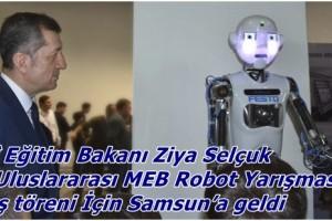 """""""Yapay Zekâ"""" Temalı 13. Uluslararası Robot Yarışması Başladı"""
