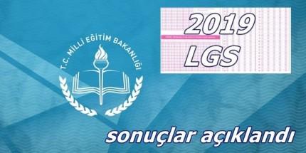 2019 LGS Sonuçları Açıklandı