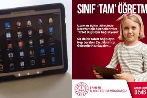 Samsun' da Uzaktan Eğitime Ulaşamayan Öğrenci Kalmayacak