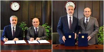 OMÜ-TTO İle Amasya Üniversitesi İş Birliği Protokolü İmzalandı