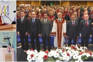 OMÜ 44. Yılını Törenle Kutladı