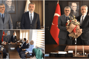İlahiyat Fakültesinin Yeni Dekanı Prof. Dr. Metin Yılmaz Görevine Başladı