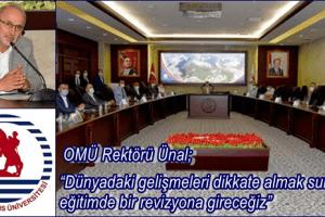 Rektör Ünal Sivil Tolum Kuruluşları ile İstişare Toplantısı Düzenledi