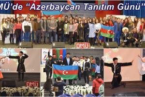 OMÜ'de Azerbaycan Günü Coşkuyla Kutlandı
