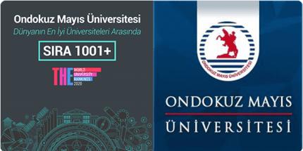 OMÜ Dünya Üniversiteler Sıralamasında Yeniden 1001+ Grubunda