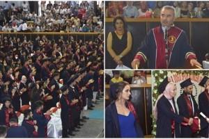 Yaşar Doğu Spor Bilimleri Fakültesi Mezunlarını Uğurladı