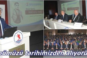 Türk Güreşinin Sembolü Yaşar Doğu OMÜ'de Panelle Anıldı