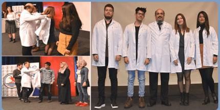 OMÜ'de Genç Diş Hekimi Adayları Beyaz Önlüklerini Giydi