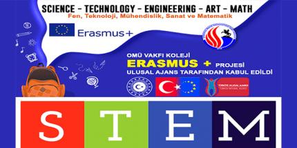 OMÜ Vakfı Kolejinin STEM Projesi Ulusal Ajans Tarafından Kabul Edildi