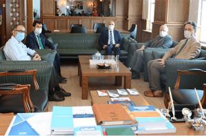 Vali Dr. Zülkif Dağlı Samsun Üniversitesini Ziyaret Etti