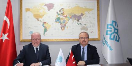 Türkiye Maarif Vakfı ile SAMÜ Arasında Protokol İmzalandı