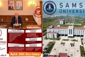 Samsun Üniversitesi Öğrencilerini Bekliyor