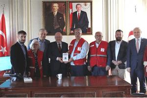 Kızılay Samsun Şube Yönetiminden Samsun Üniversitesi'ne Ziyaret