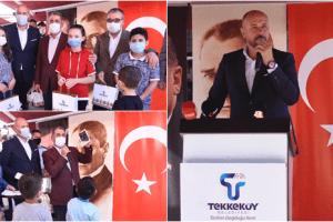 Tekkeköy'de İhtiyaç Sahibi Tabletsiz Öğrenci Kalmadı