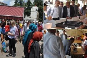 Terme'de TÜBİTAK Bilim Fuarı Sergisi Açıldı