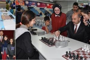 Terme'de Santranç Turnuvası Heyecanı