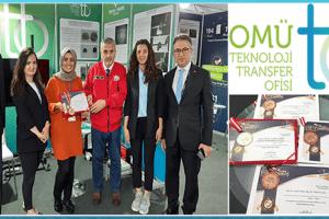 OMÜ TTO'ya ISIF'19'da 1 Altın ve 3 Bronz Patent Ödülü