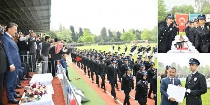 19 Mayıs Polis Meslek Yüksekokulu 343 Genç Polis Mezun Etti