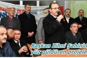 Başkan Zihni Şahin'den Kırsal Kalkınma Projeleri