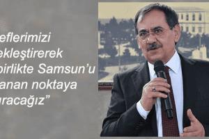 """Başkan Mustafa Demir: """"Samsun'un Geleceği Parlak"""""""