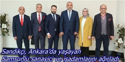 """""""Samsun'umuz İçin Emek Veren, Çalışma Yapan Yatırımcılara Kapımız Açık"""""""