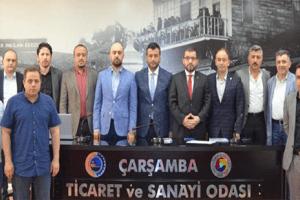 """""""Tekstilkent Projesi"""" Çarşamba'da İstihdamı Artıracak"""