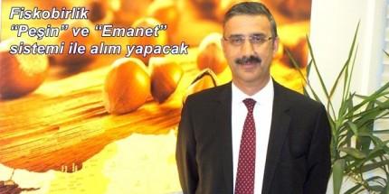 """Fiskobirlik Başkanı Bayraktar: """"Fındık Alımı Yapacağız"""""""