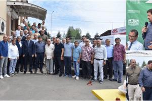 """Başkan Şenlikoğlu: """"Giresun Sanayisi Şehrimizin Can Damarı"""""""