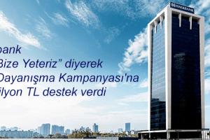 Halkbank Milli Dayanışma Kampanyası'na Destek Verdi