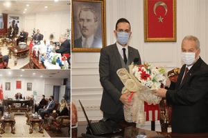 SAMGİAD'dan Başkan Demirtaş'a Ziyaret