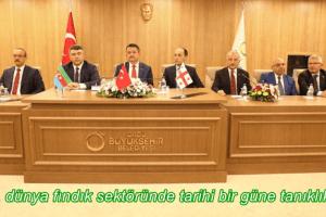 Fındık Alanında Stratejik İşbirliği Deklarasyonu