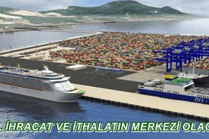 Ünye'de Konteyner Limanı Kuruluyor