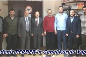Karadeniz PERDER Başkanlığına Osman Kalafat Yeniden Seçildi