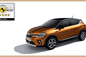 Yeni Renault Captur'a Beş Yıldız