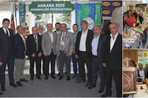 Rize'nin Tescilli Ürünleri Ankara'da Sergileniyor