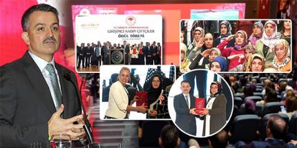 Girişimci Kadın Çiftçi Ödülleri Sahiplerini Buldu