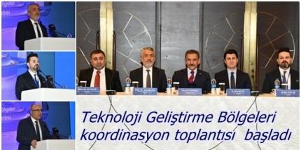 6. Teknoloji Geliştirme Bölgeleri Koordinasyon Toplantısı Samsun'da Başladı