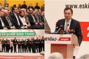 TÜYAP Eskişehir 2. Gıda Fuarı Kapılarını Açtı