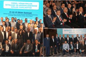Samsun Ak Parti Yerel Yönetimler Bölge Toplantısı'na Ev Sahipliği Yaptı