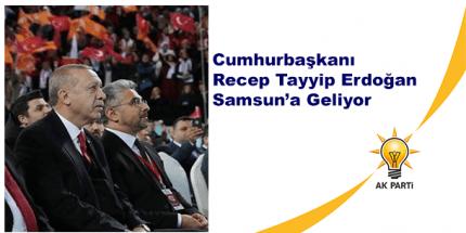 Ak Parti Samsun 7. İl Kongresi 19 Mayıs Stadyumu'nda Yapılacak